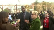 Curtis '50 Cent' Jackson and Bette Midler at the NYRP Celebrates Opening of Curtis '50 Cent' Jackson Community Garden at Queens NY
