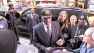Curtis '50 Cent' Jackson arrives at NBC studios in New York 10/25/11