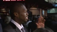 Curtis '50 Cent' Jackson at the Dead Man Running Premiere at London England
