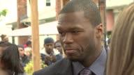Curtis '50 Cent' Jackson at the NYRP Celebrates Opening of Curtis '50 Cent' Jackson Community Garden at Queens NY