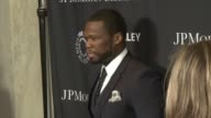 Curtis '50 Cent' Jackson at The Paley Center For Media's Tribute To AfricanAmerican Achievements In Television Presented By JPMorgan Chase Co at the...