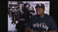 Curtis '50 Cent' Jackson on how through his music people see him as being aggressive and as an actor he'd like to show his other artistic side that's...