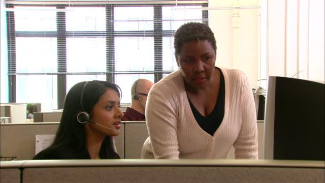 CU, Customer service representatives at work