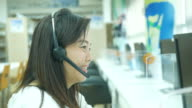 Customer support phone operator