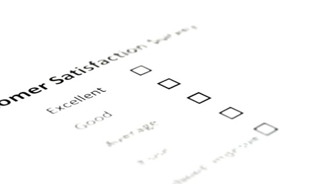 Customer Survey Voiting