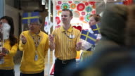 Customers enter an Ikea AB store during its opening in Gwangmyeong Gyeonggi province South Korea on Thursday Dec 18 Customers enter an Ikea AB store...
