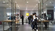 Customers experience the products in the new MI experience shop in Riverside 66 Plaza Xiaomi is a leading local smart phone brand in China and has...