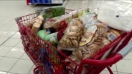 Customers in the Dominican Republic empty supermarket shelves as monster hurricane Irma one of the most powerful Atlantic storms on record slams into...
