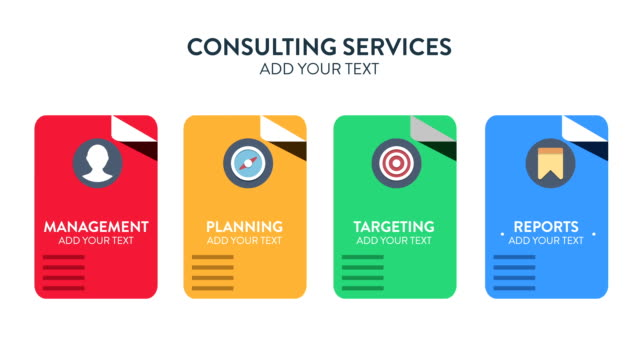 Customizing Promo  - Consulting Services Concept