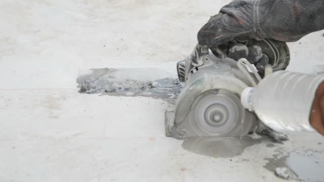 Cut Zementboden