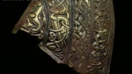 CUTAWAYs Close ups of gold Anglo Saxon artefacts