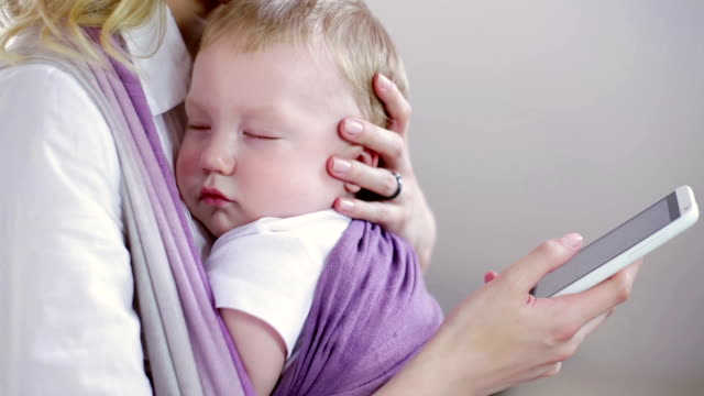Carino bambino dormire