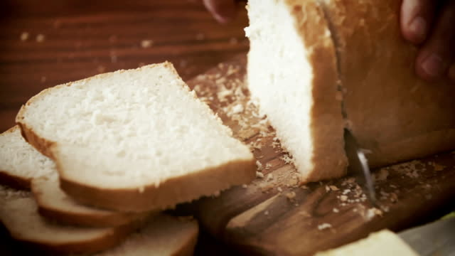 Cutting Bread into Slices