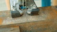 Cutting metal arbetsstycket