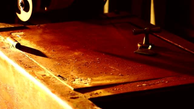 Cutting säker med en vinkelslip