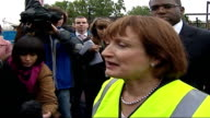 Cutty Sark destroyed by fire Tessa Jowell MP interview SOT it's devastating / this is icon around the world