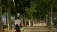 Cycling and Running by the Banks of the River Saone,MS