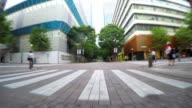 Radfahren in Marunouchi Tokyo