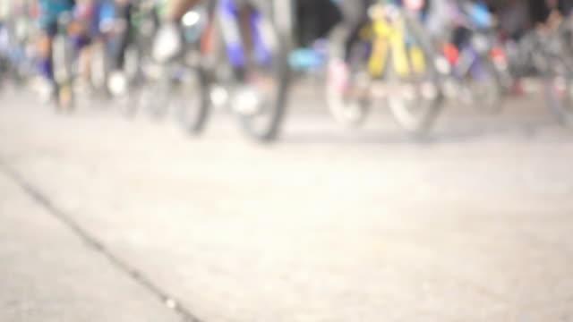 cycling parade
