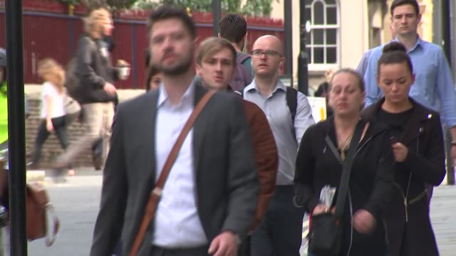 Cyclist charged with manslaughter goes on trial at Old Bailey court arrival ENGLAND London Old Bailey EXT Charlie Alliston along with others as...