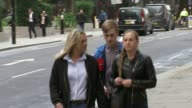 Cyclist Charlie Alliston jailed for 18 months over death of Kim Briggs ENGLAND London Old Bailey EXT Charlie Alliston arriving at court