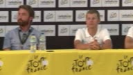 Cyclists from Team Orica GreenEDGE showed enthusiasm ahead of the start of Tour de France in Leeds despite news that their teammate Daryl Impey the...