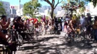 Cyclists take to Cape Towns streets on Saturday for the World Naked Bike Ride which is held in several cities around the world CLEAN Offbeat Cape...
