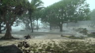 Zyklon-Sturmflut