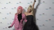 Cyndi Lauper and Kate Crash at the Cyndi Lauper's True Colors Fund Inaugural Damn Gala at Hollywood Athletic Club on October 09 2016 in Hollywood...