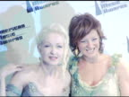 Cyndi Lauper and Sarah McLachlan at the 2005 American Music Awards press room at the Shrine Auditorium in Los Angeles California on November 22 2005