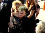 Cyndi Lauper at the 1995 Emmy Awards Arrivals at the Pasadena Civic Auditorium in Pasadena California on September 10 1995