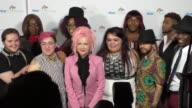 Cyndi Lauper at the Cyndi Lauper's True Colors Fund Inaugural Damn Gala at Hollywood Athletic Club in Hollywood on October 09 2016