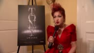INTERVIEW Cyndi Lauper on being nervous for her award and having fun this evening at The 67th Annual Tony Awards Arrivals at Radio City Music Hall on...