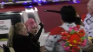 Cyndi Lauper on Hollywood Blvd at the 85th Annual Hollywood Christmas Parade in Hollywood in Celebrity Sightings in Los Angeles