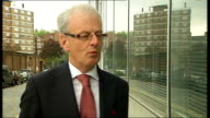 Alan Collins interview ENGLAND London EXT Alan Collins interview SOT