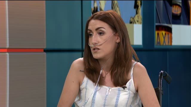 22 year old woman takes herself off transplant list in order to complete bucket list Channan Petrides LIVE STUDIO interview SOT