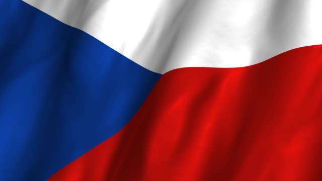 Czech Republic Flag Wa...