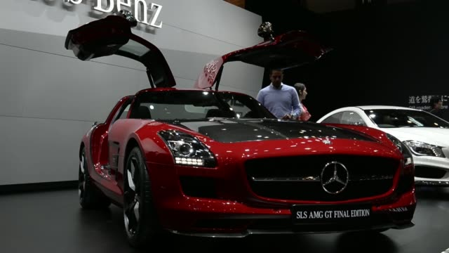 Daimler AGs MercedesBenz Concept SClass Coupe vehicle stands on display at the 43rd Tokyo Motor Show 2013 in Tokyo Japan on Thursday Nov 21 Daimler...