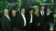 Dale Armin Johnson Bob Berney Ted Hope Brad Pitt James Grey Anthony Katagas at Premiere Of Amazon Studios' 'The Lost City Of Z' Arrivals at ArcLight...