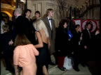London Leicester Square CMS Footballer Paul Gascoigne with wife Sheryl and children along for premiere of new Disney film `101 Dalmatians' PAN RL CMS...