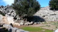 Dalyan, Caunos ancient city.