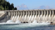 dam at jackson lake wyoming