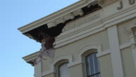 Damage to City Hall Building from Napa Earthquake