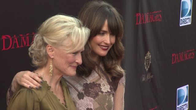 'Damages' Season 4 Premiere New York NY United States
