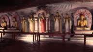 Dambulla cave in Sri Lanka