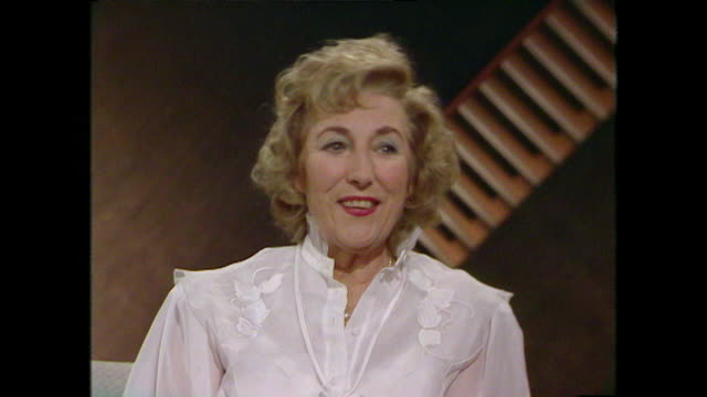 Dame Vera Lynn explains how she used to pick optimistic songs during the Second World War 1984 LLVG340R AEVZ001J