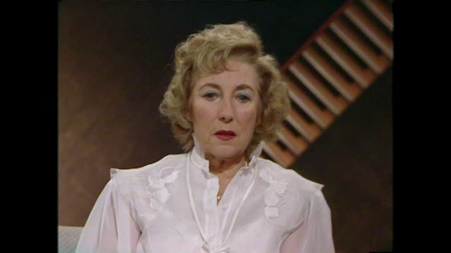 Dame Vera Lynn talks about the importance of keeping people's spirits up through entertainment during WWII both at home and abroad 1984 LLVG340R...