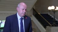 London Westminster INT Damian Green MP interview SOT re benefits caps Supreme Court and Brexit press coverage of High Court decision