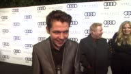 Damian McGinty on kicking off Golden Globe week at this party what he's most looking forward to this evening at the Audi And Martin Katz Celebrate...