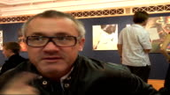Damien Hirst interview Damien Hirst interview SOT On doing art at school painting on canvas big paintings / On diversity of comtemporary art / On the...